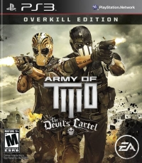 Army of Two: The Devil's Cartel - Overkill Edition Box Art