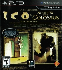 Collection: Ico & Shadow of the Colossus: The Collection Box Art