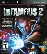inFamous 2 [CA] Box Art