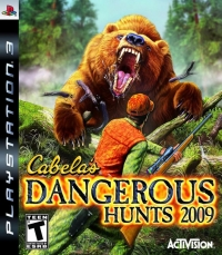 Cabela's Dangerous Hunts 2009 Box Art