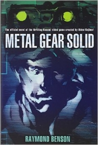 Metal Gear Solid Official Novel Box Art