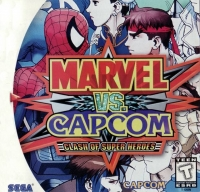 Marvel vs. Capcom: Clash of Super Heroes Box Art