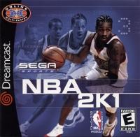 NBA 2K1 Box Art