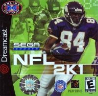 NFL 2K1 Box Art