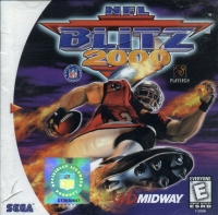 NFL Blitz 2000 Box Art