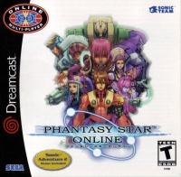 Phantasy Star Online Box Art