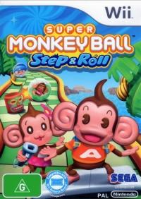 Super Monkey Ball: Step & Roll Box Art