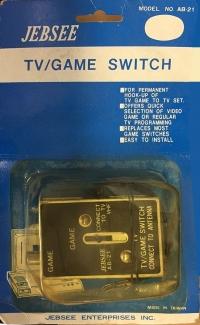 Jebsee TV/Game Switch AB-21 Box Art