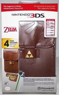 PowerA Nintendo 3DS The Legend of Zelda Adventurer's Pouch Kit Box Art