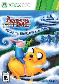 Adventure Time: The Secret of the Nameless Kingdom Box Art