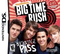 Big Time Rush: Backstage Pass Box Art