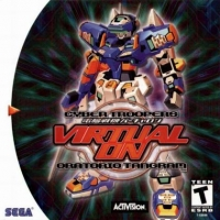 Cyber Troopers Virtual On: Oratorio Tangram Box Art