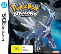 Pokemon: Diamond Version Box Art