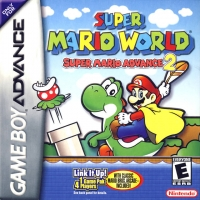 Super Mario World: Super Mario Advance 2 Box Art