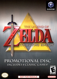 Legend of Zelda, The: Collector's Edition Box Art