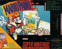 Mario Paint Box Art