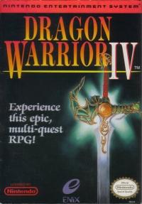 Dragon Warrior IV Box Art