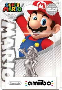 Mario (Silver Edition) - Super Mario [NA] Box Art