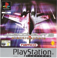Ace Combat 3: Electrosphere - Platinum Box Art