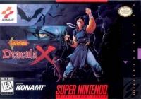 Castlevania: Dracula X Box Art