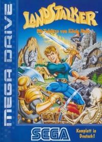 Landstalker: Die Schätze von König Nolo (blue cover) Box Art