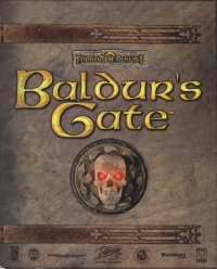 Baldur's Gate Box Art