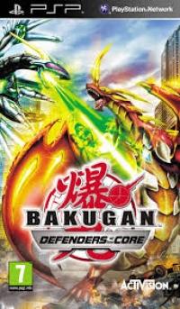 Bakugan: Defenders of the Core Box Art