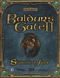 Baldur's Gate II: Shadows of Amn Box Art