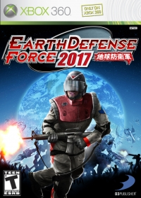 Earth Defense Force 2017 Box Art