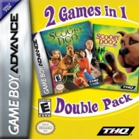 2 Games in 1 Double Pack: Scooby-Doo / Scooby-Doo 2: Monsters Unleashed Box Art