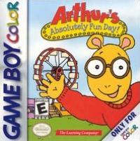 Arthur's Absolutely Fun Day! Box Art