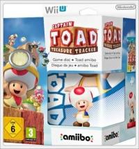 Captain Toad: Treasure Tracker (Toad amiibo) Box Art