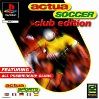 Actua Soccer - Club Edition Box Art