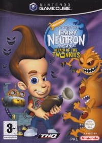 Adventures of Jimmy Neutron, The: Boy Genius - Attack of the Twonkies Box Art