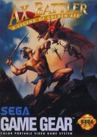 Ax Battler: Legend of Golden Axe Box Art