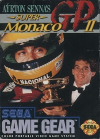 Ayrton Senna's Super Monaco GP II Box Art