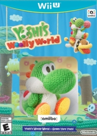 Yoshi's Woolly World + Green Yarn Yoshi Box Art
