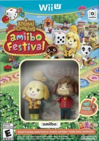 Animal Crossing: amiibo Festival + Isabelle and Digby + Goldie, Rosie and Stitches Box Art