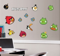 Angry Birds Peel & Stick Wall Decals Box Art