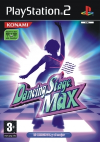 Dancing Stage Max Box Art
