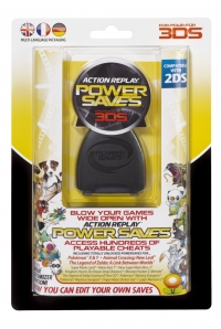 Action Replay Power Saves For 3DS Box Art