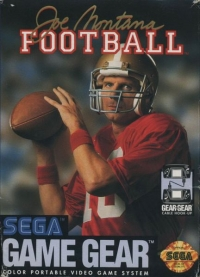 Joe Montana Football Box Art