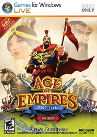 Age of Empires Online: The Greeks Box Art