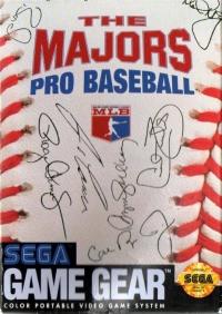 Majors Pro Baseball, The Box Art