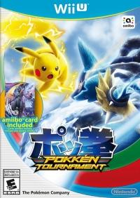 Pokkén Tournament (Amiibo Card Included) Box Art