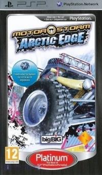 MotorStorm: Arctic Edge - Platinum Box Art