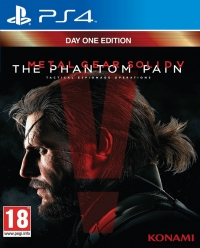 Metal Gear Solid V: The Phantom Pain - Day One Edition Box Art