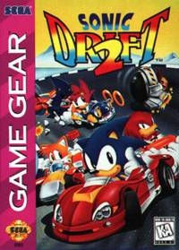 Sonic Drift 2 Box Art