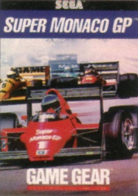 Super Monaco GP Box Art