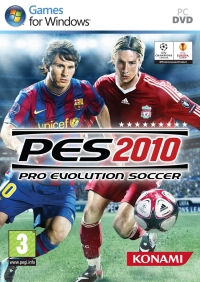 Pro Evolution Soccer 2010 Box Art